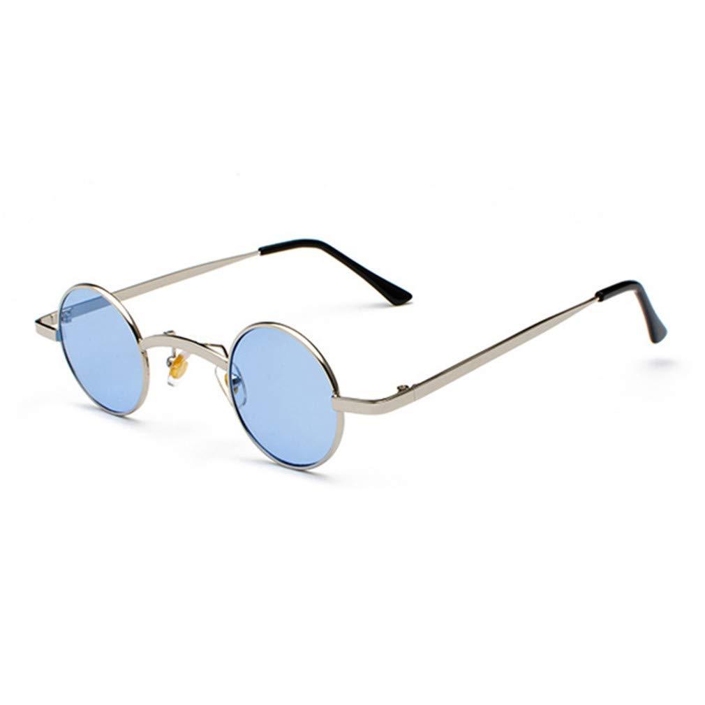 Amazon.com: Gafas de sol pequeñas redondas Steampunk para ...