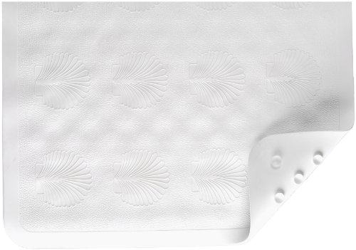 NOVA Medical Products Rubber Bath Mat, White