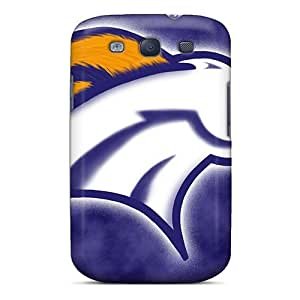 SherriFakhry Samsung Galaxy S3 Bumper Hard Phone Covers Allow Personal Design Lifelike Denver Broncos Skin [mXE17838bENi]