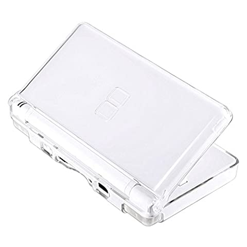 Insten Replacement NDS Lite Crystal Clear ICE White Case