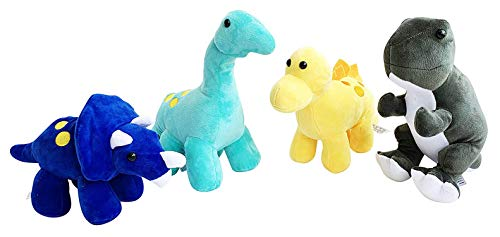 - GRIFIL ZERO Plush Dinosaurs Stuffed Animal Family 4 Pack