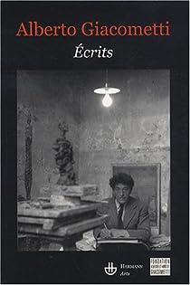 Écrits par Giacometti