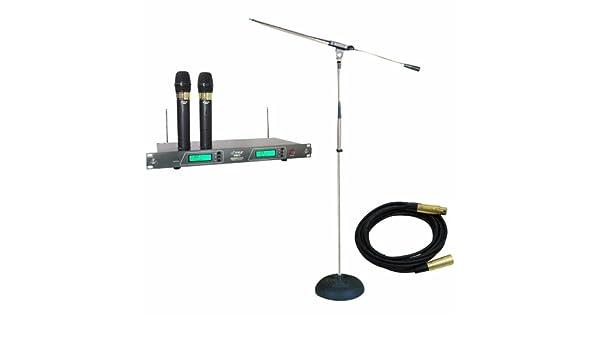 Pyle soporte de micrófono y paquete - PDWM2550 19