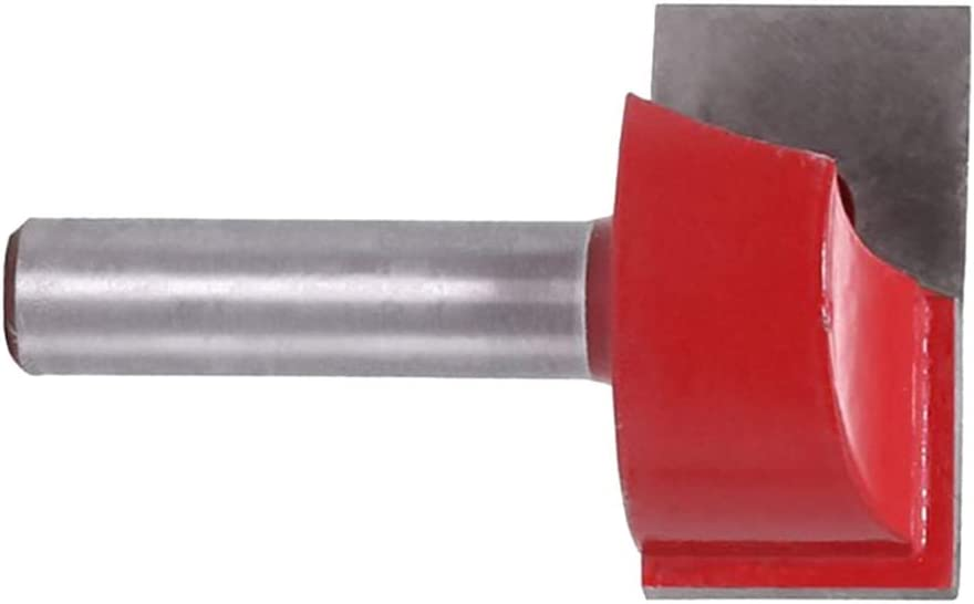 Vankoa Fraises de nettoyage /à double cannelure en carbure de 8 mm de diam/ètre de coupe 18-32 mm
