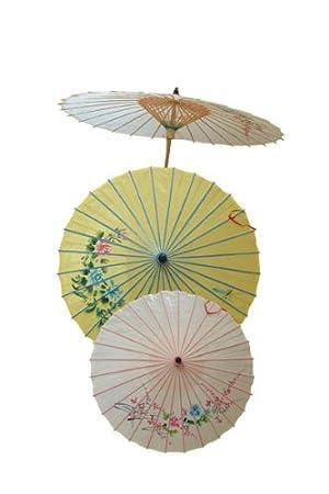 Ptit Clown62440–Paraguas chino pintado a mano