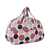 Large Capacity Women Travel Bag Luggage Duffle Bag New Flower Print Handbag as picture5