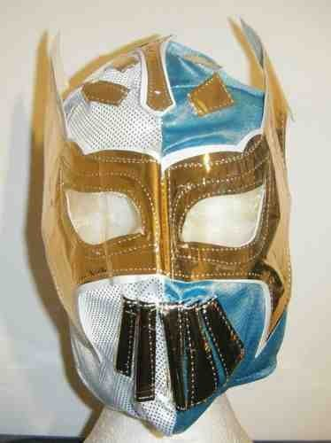 ASHLEYS Blue And White Sin Cara Wrestling ()