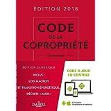 CODE DE LA COPROPRIÉTÉ 2016 25E ÉD.