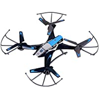 Top Quality Future Police Remote Control Drone RC Quadcopter w HD Camera, 2.4GHz 4-CH w Gyroscope, 360 Degree Flips, Multi Flying Directions, Long flight distance and time, Light Weight, Great Fun