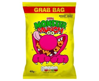 Which are the best monster munch beef big bag available in 2020?
