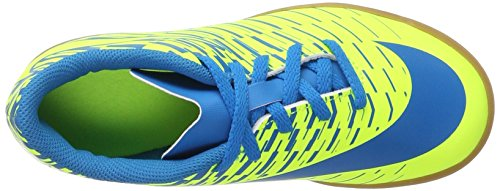 Nike Jr Bravatax II IC, Botas de Fútbol Unisex Bebé Varios colores (Volt/Blue Orbit/Blue Orbit)