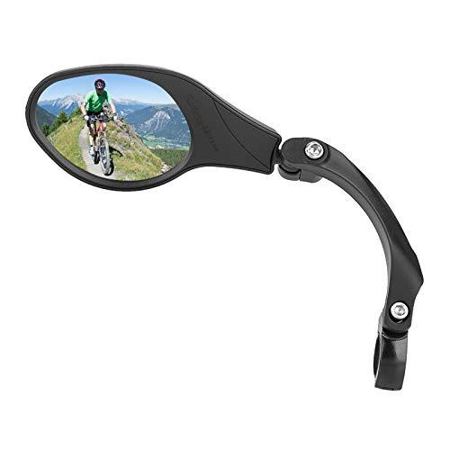 Fietsspiegels, 1 stuks fiets achteruitkijkspiegel Verstelbare stuur achteruitkijkspiegel voor Mountain Road Bike Fiets…