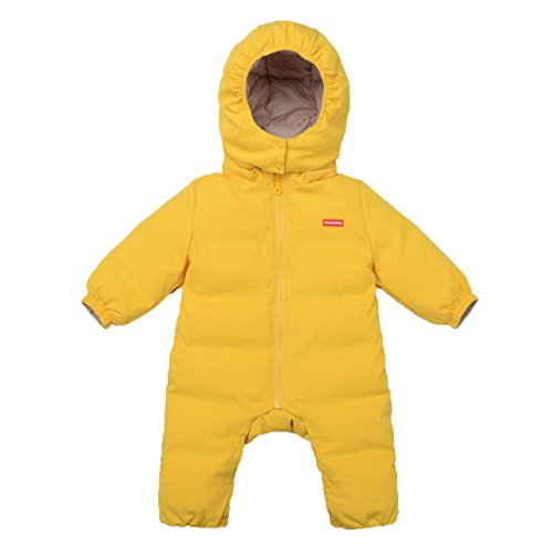 Nanny McPhee Baby Snowsuit Unisex Baby Winter One-Piece Down Jumpsuit Attached Hood 5-12 Months by Nanny McPhee
