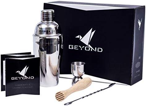 Compra Beyond - Juego de coctelera (acero inoxidable, 500 ml ...