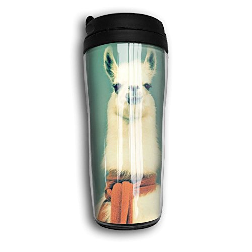 e Mug Double Wall Thermos Coffee Cup For Man Special Design For Cold Llama ()