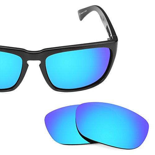 Verres de rechange pour Electric Knoxville XL — Plusieurs options Bleu Glacier MirrorShield® - Polarisés