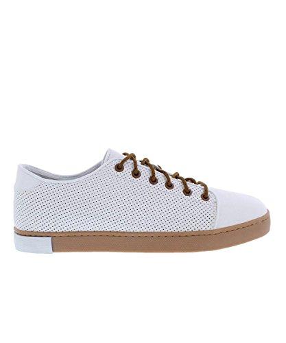 Hub Parsons - Sneakers de hombre, color White/Gum (Blanco / Rosa), talla 45