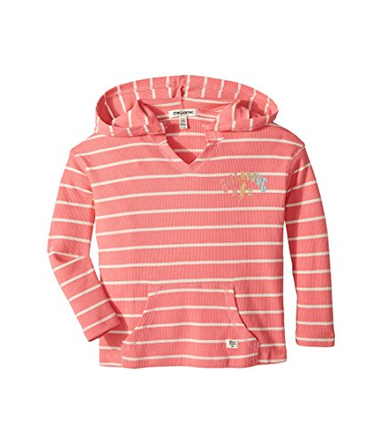 Billabong Big Girls' Almost There Hoody Tops,Medium,Paradise Pink (Billabong Sweatshirt Thermal)