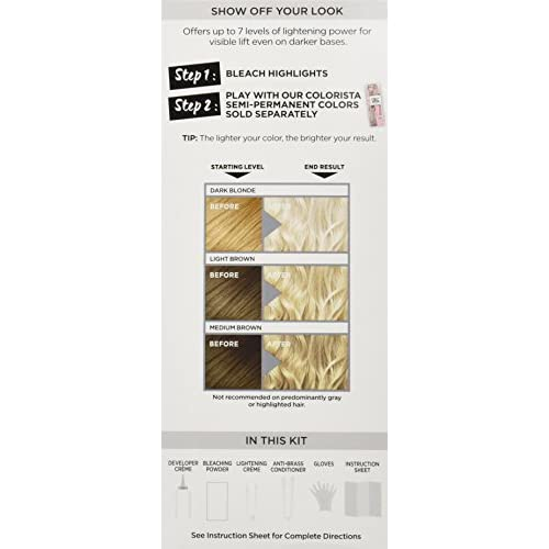 free shipping L'Oreal Paris Colorista Bleach, All Over