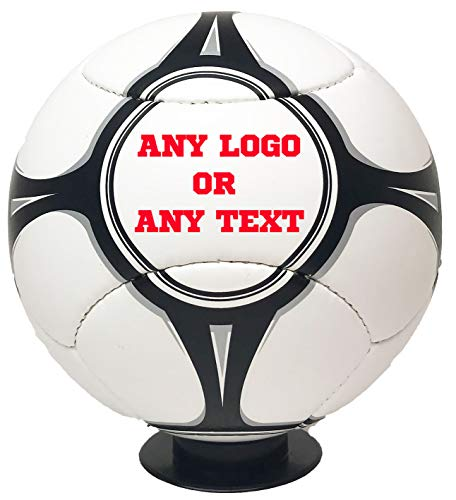 Personalized Soccer Balls (Personalized Custom Photo Euro Style Regulation Full Size Soccer Ball - Any Image - Any Text - Any)