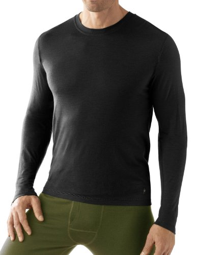 Smartwool NTS Microweight Crew - Men's Black Large