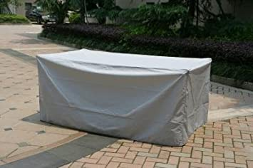 Housse protection table de jardin rectangulaire - 735941: Amazon ...