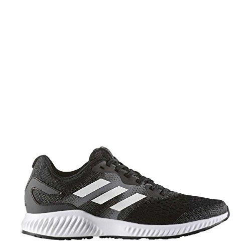 adidas Men's Aerobounce M, BLACK/WHITE Black/White