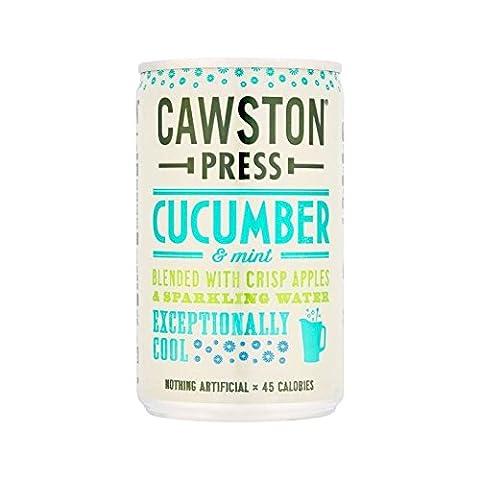 Cawston Press Sparkling Cucumber & Mint 150ml (Pack of 4) (Geo Press)