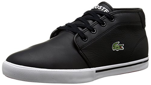 Lacoste Men's Ampthill Lcr3 Shoe, black, 13 M US