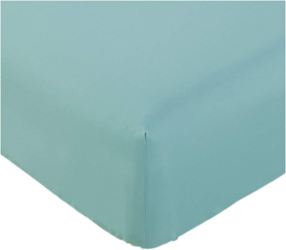 Mellanni Fitted Sheet TwinXL Baby-Blue - Brushed Microfiber 1800 Bedding - College Dorm Room - Wrinkle, Fade, Stain Resistant - Hypoallergenic - 1 Fitted Sheet Only (Twin XL, Baby Blue)