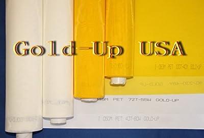 3 yards - 230 Yellow Mesh x 63'' Width Silk Screen printing Mesh