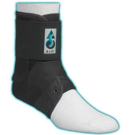 ASO Ankle Stabilizer, Black, Small