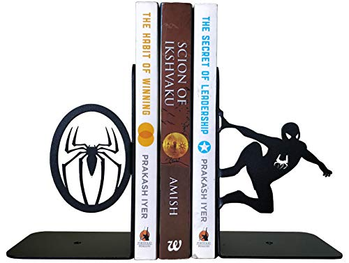 sujeta libros del hombre araña spiderman marvel