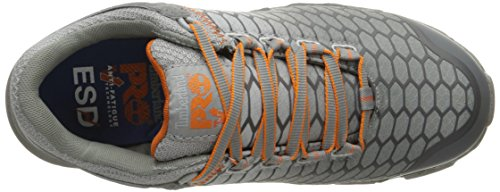 Construction Shoe SD Timberland Industrial Women's Alloy Grey PRO Sport Synthetic Powertrain and Orange Toe w4Rqw