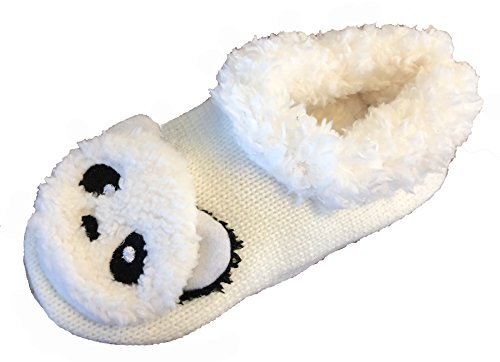 Slippers Assortment Panda Ivory Cozy Animals Wide Themed Blandice Super Women's of Available House Soft Animal 4w0zAn