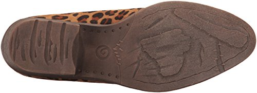 Volatile Women's Ankle leopard Boot Cavalry tan wadprwvq