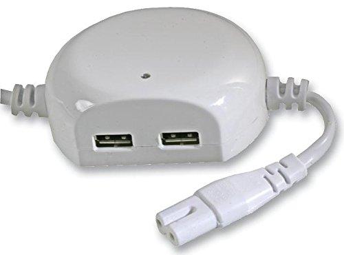 PIKE y CO® ELECTRONICS pke37211plomo cargador USB 13un enchufe a FIG8W/min 3yr Garantía Cables