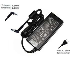 Lavolta-Adaptador de corriente alterna para HP Pavilion 17 F053CA-17-17-F065US f067ng-Power-Ordenador portátil (TM) de marca () con enchufe europeo