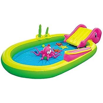Amazon.com: H2OGo! Piscina inflable de isla volcánica: Toys ...