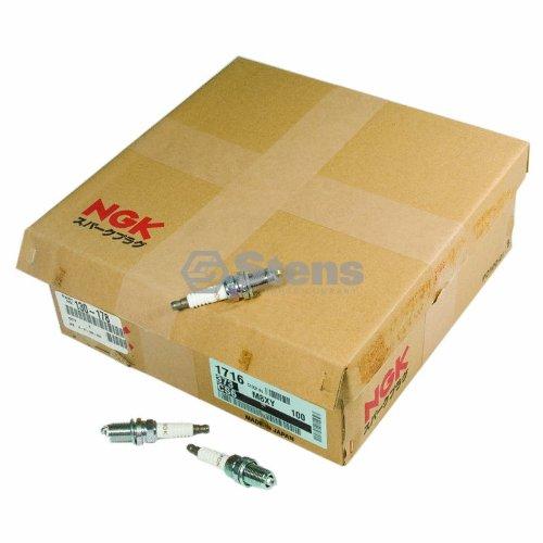 NGK 130-178 Spark Plug Shop Pack, White