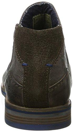 Bugatti 312173313200, Botas Chelsea para Hombre, Gris (Grey), 40 EU