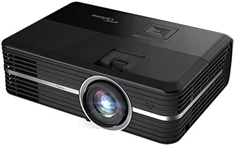 Optoma UHD51ALV True 4K UHD Smart Projector with HDR Super Bright 3,000 Lumens HDR10 Works with Alexa and Google Assistant Voice Command to Activate Projector USB Media Streamer