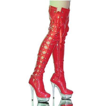 Mujer Rojo Fashion Plataforma rojo Ruby qHpOw4Z