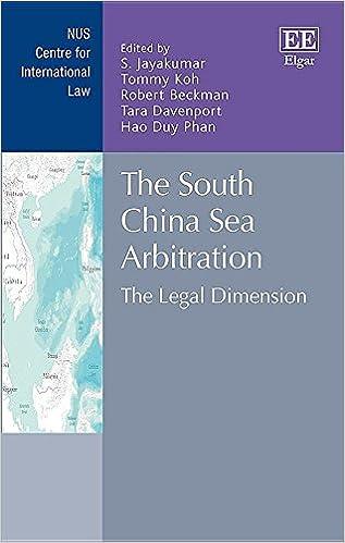 Amazon com: The South China Sea Arbitration: The Legal Dimension