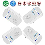 Ultrasonic Pest Repeller–squire- Electronic & Ultrasound, Indoor Plug-In Repellent | Anti Mice, Insects, Bugs, Ants, Mosquitos, Rats, Roaches, Rodents ,deep blue and light blue- Pest Control (6 packs)