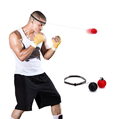WEBB BOXING Boxing Fight Ball Reflex for Training to Improve Speed and Reactions, Punch Equipment for Boxing, MMA and Other Combat Sports Revolution Training and Fitness