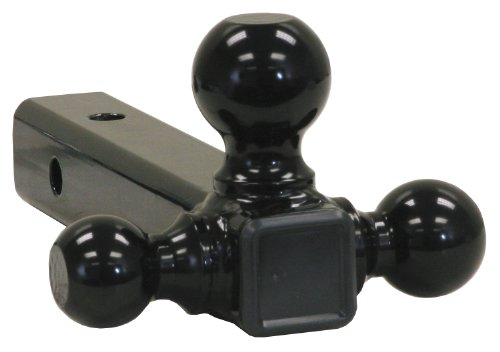 Buyers Products 1802202 Ball Mount Class (3 Tri-Ball with Black (Buyers Ball Mount)