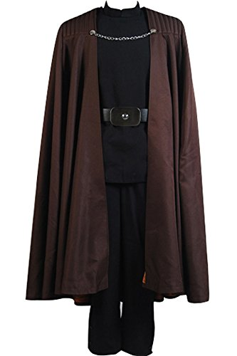 CosplaySky Star Wars Costume Attack of the Clones Count Dooku Cosplay Halloween Uniform Large (Count Costume)