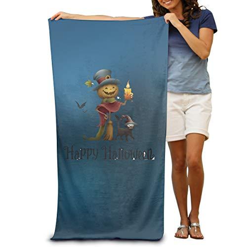 Sakanpo Bath Towel - Halloween Witch Soft Large Swim Beach Towels