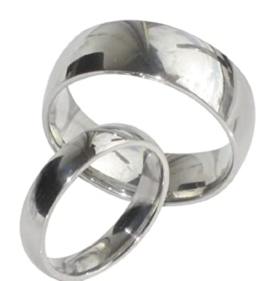 Yourjewellerybox - Anillo con detalle de anillo de matrimonio, talla 9 (15,60